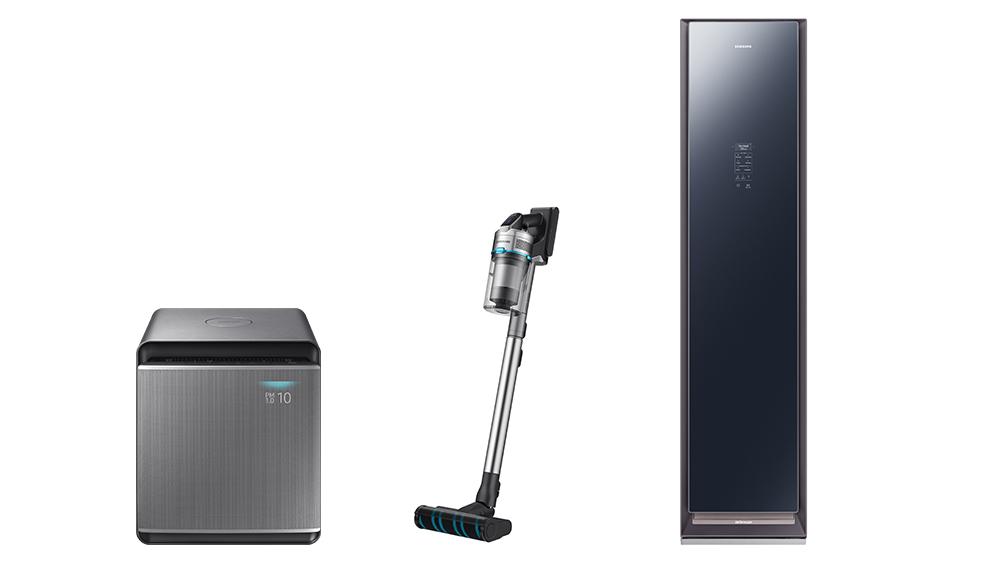 Samsung ra mắt tủ quần áo thông minh và máy lọc không khí đầu tiên