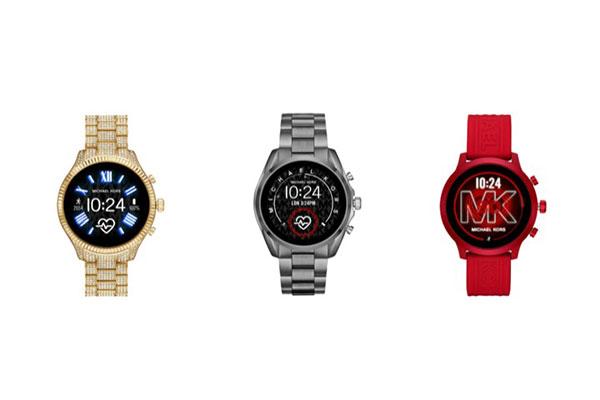 Michael Kors ra mắt 3 smartwatch mới, giá từ 300 USD
