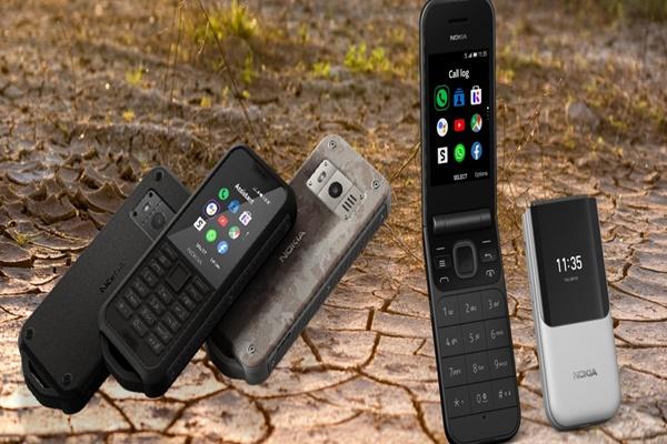 """Nokia 800 Tough """"hầm hố"""" và 2720 Flip vỏ sò ra mắt: có 4G, hệ điều hành KaiOS"""