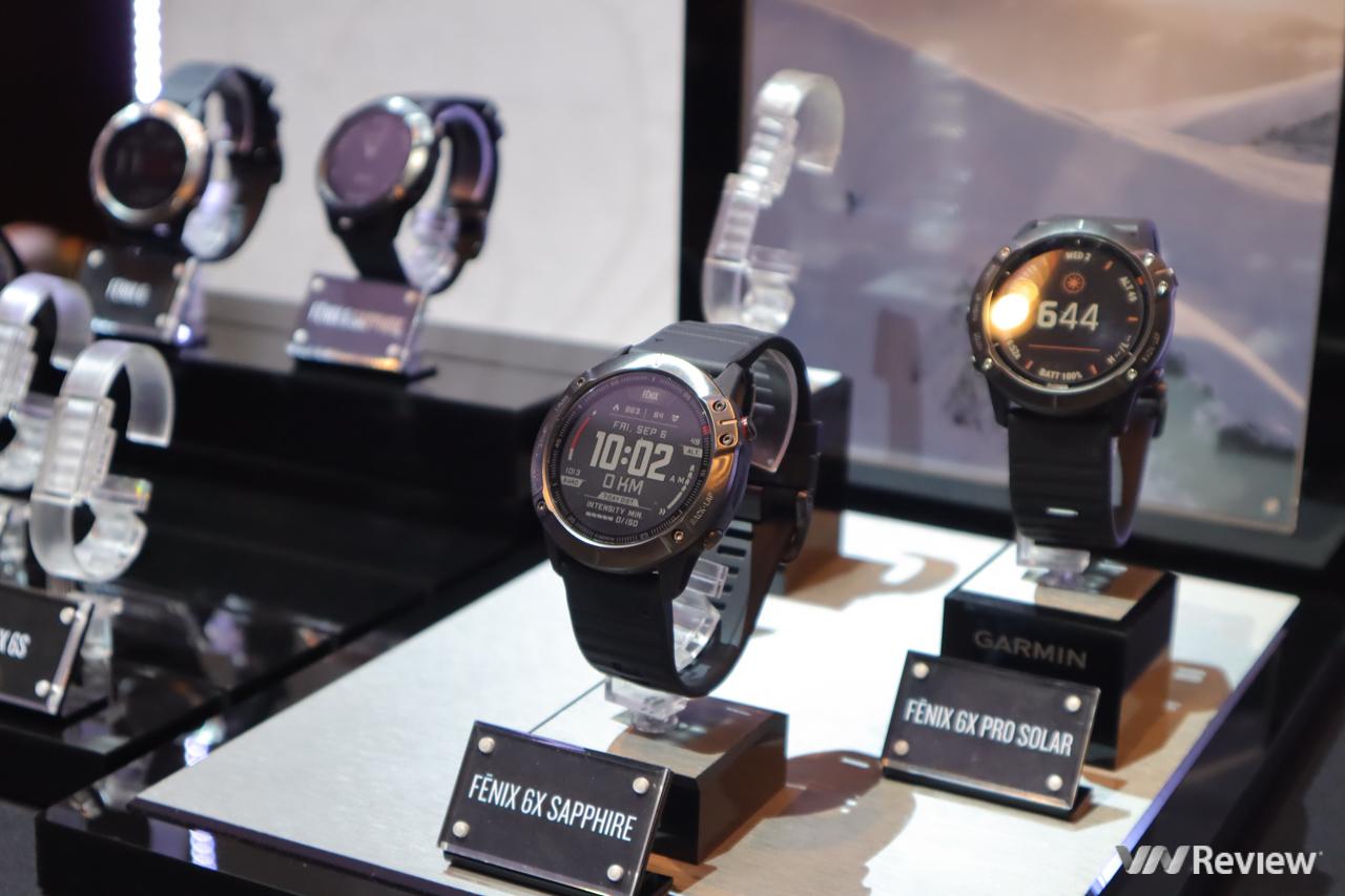 Garmin fēnix 6 series ra mắt tại VN: smartwatch thể thao, sạc năng lượng mặt trời, pin 90 ngày, giá từ 15 triệu đồng