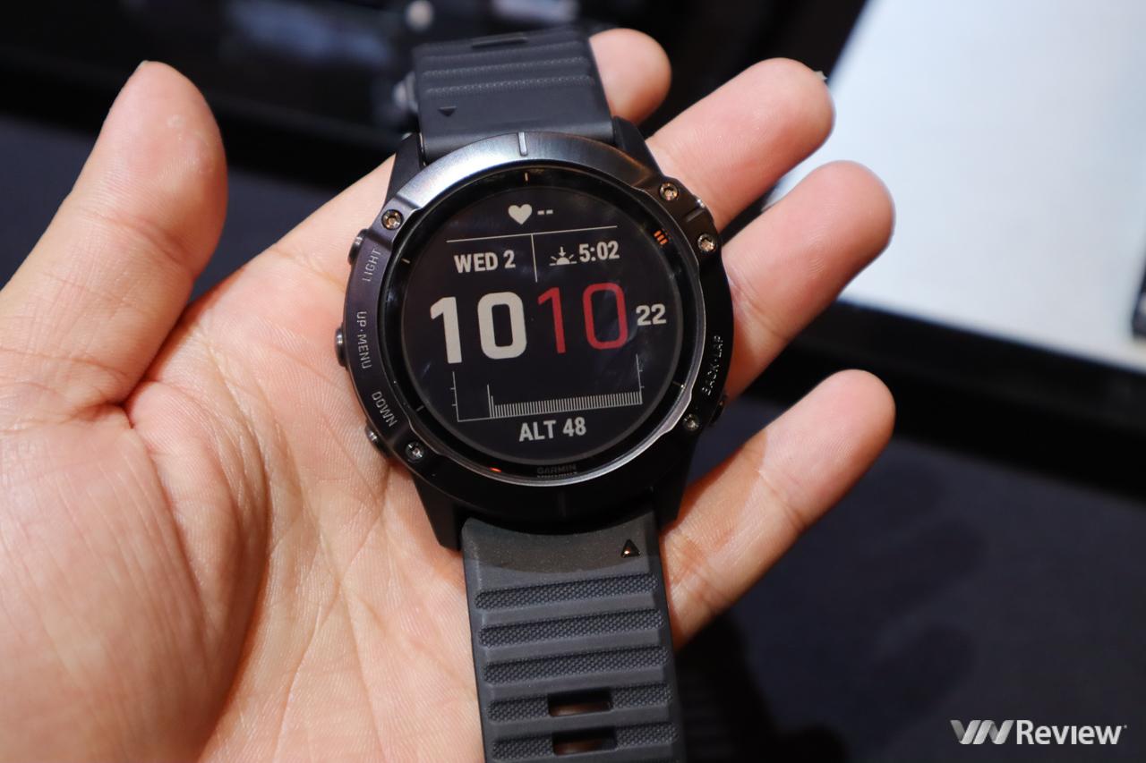 Garmin fēnix 6 series ra mắt tại VN: smartwatch thể thao chuyên nghiệp, hỗ trợ sạc pin bằng năng lượng mặt trời, thời lượng sử dụng lên đến 90 ngày, giá từ 15 triệu đồng