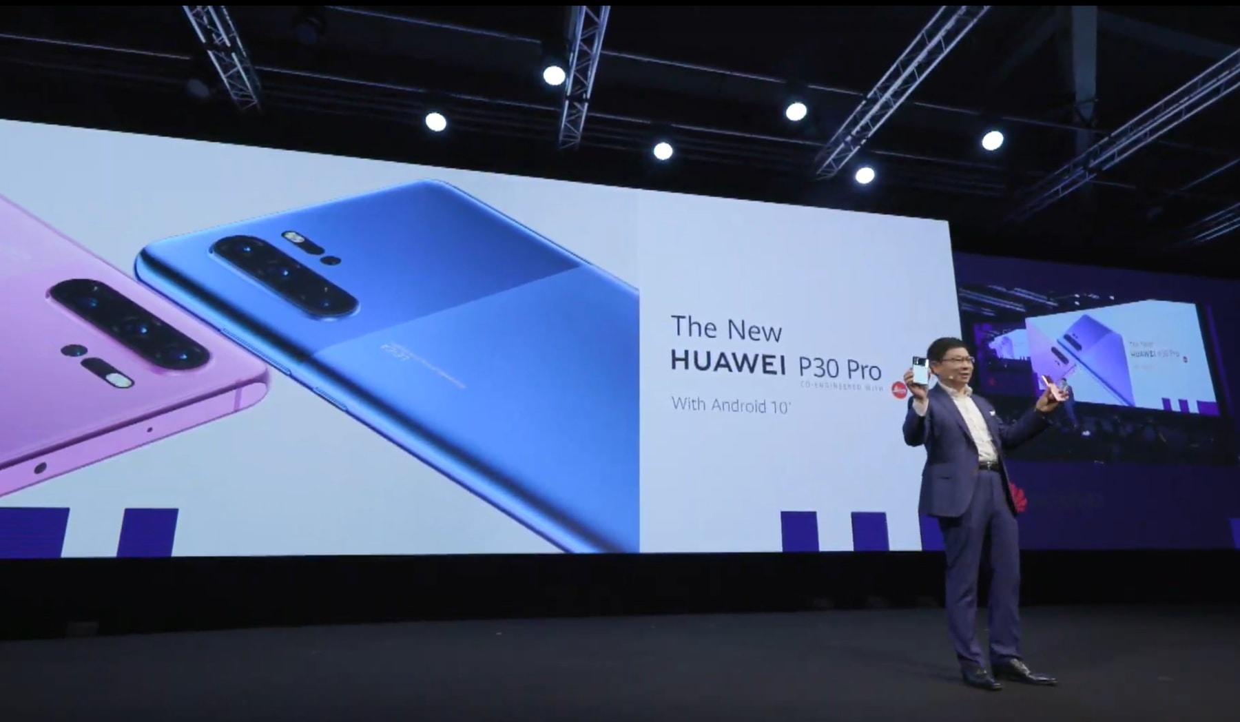 """Huawei """"lách"""" lệnh cấm sử dụng Android bằng thiết kế P30 """"mới"""""""