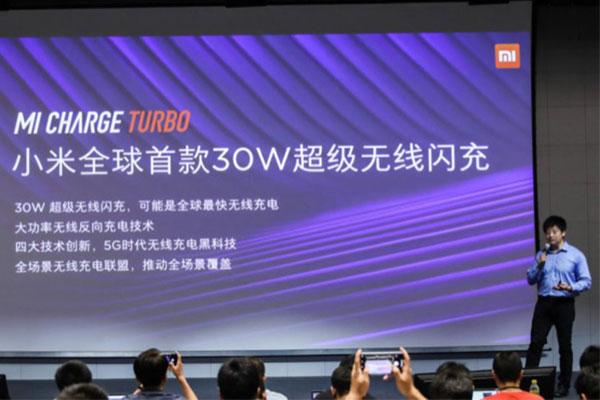 Xiaomi giới thiệu sạc nhanh không dây 30W, sẽ trang bị trên Mi 9 Pro 5G