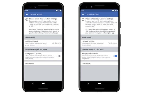 Tính năng bảo mật vị trí trên Android 10 và iOS 13 có thể khiến người dùng khó chịu