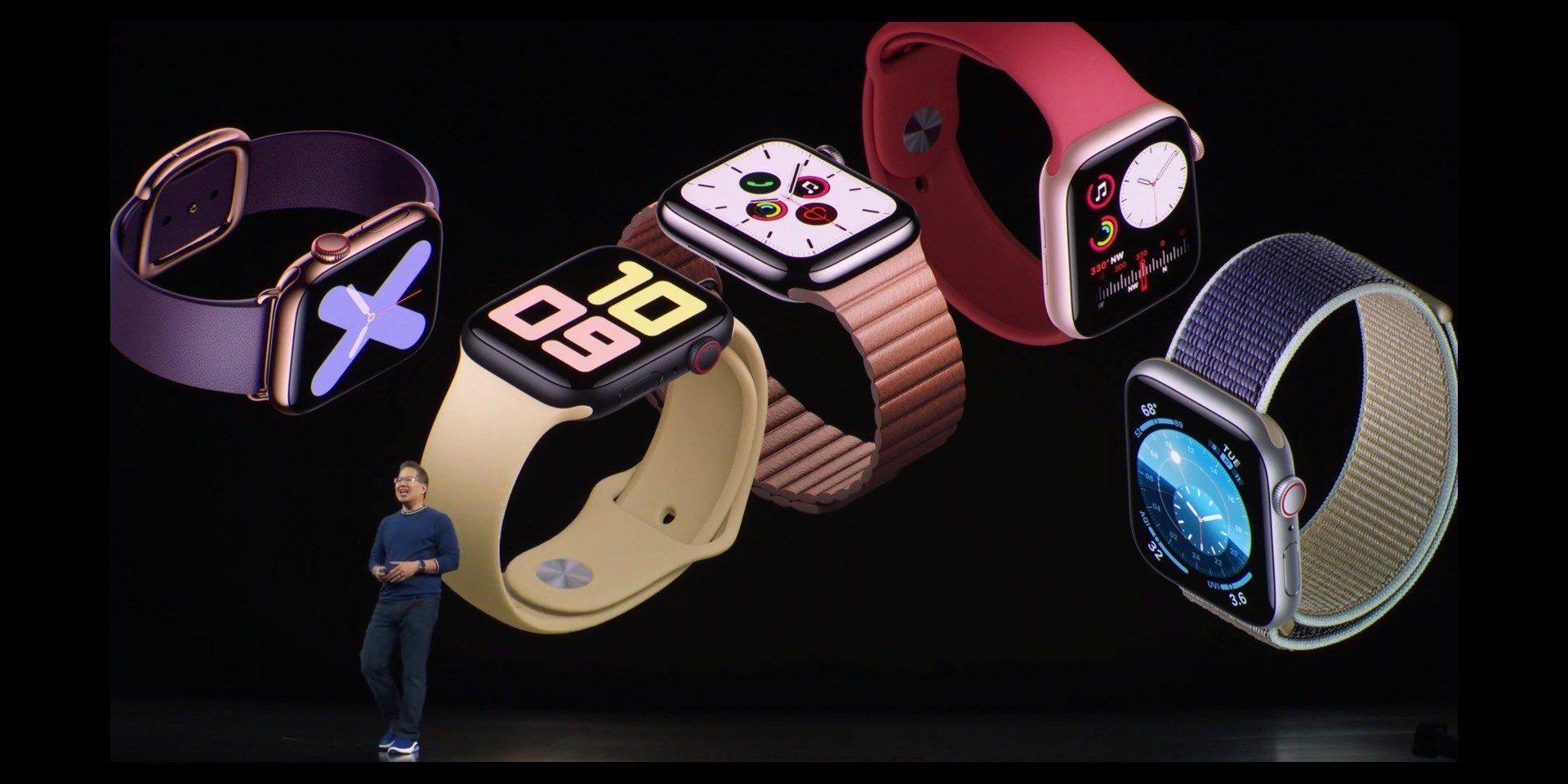 Apple ra mắt Apple Watch Series 5: Màn hình Always-On, giá 399 USD, giảm giá Series 3 còn 199 USD