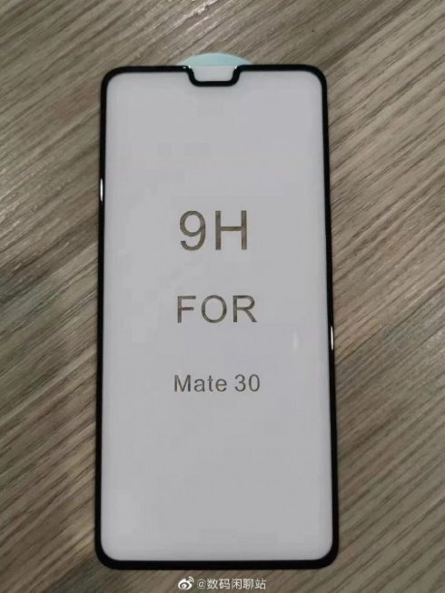 Rò rỉ hình ảnh mặt trước của Huawei Mate 30, có tai thỏ kích thước khá to