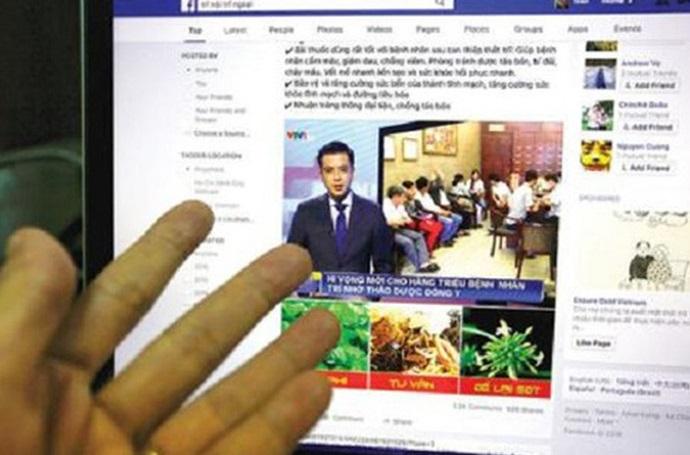 Bộ Y tế yêu cầu Facebook ngăn chặn quảng cáo thực phẩm chức năng, dược phẩm sai trái