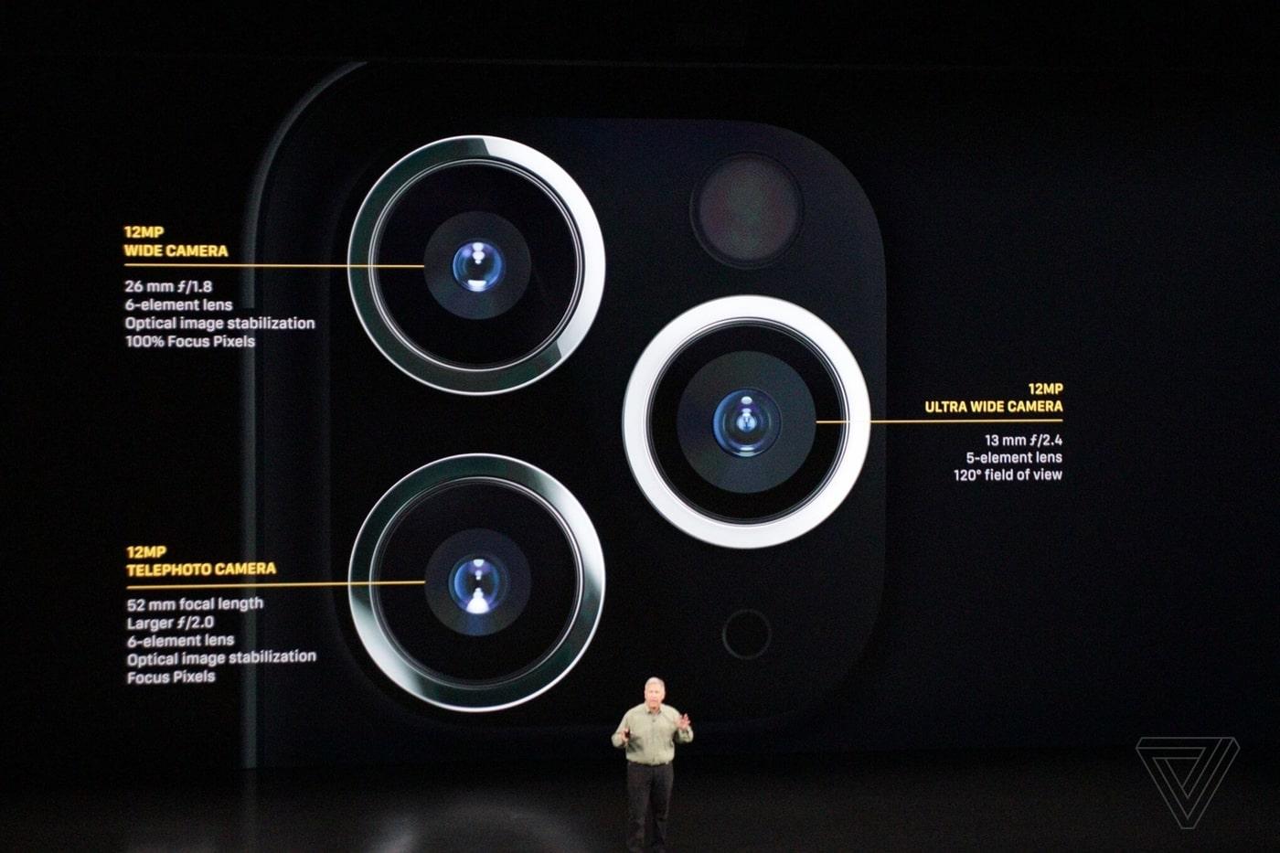 Camera trên iPhone 11 và các thông số