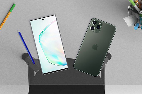 """""""So găng sớm"""" Galaxy Note 10+ và iPhone 11 Pro Max: Ai là """"ông vua"""" smartphone của năm 2019?"""