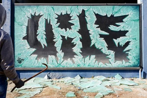"""Nghệ sỹ biến những bức tường tẻ nhạt, thiếu sức sống thành những tác phẩm 3D gây """"nhức não"""""""