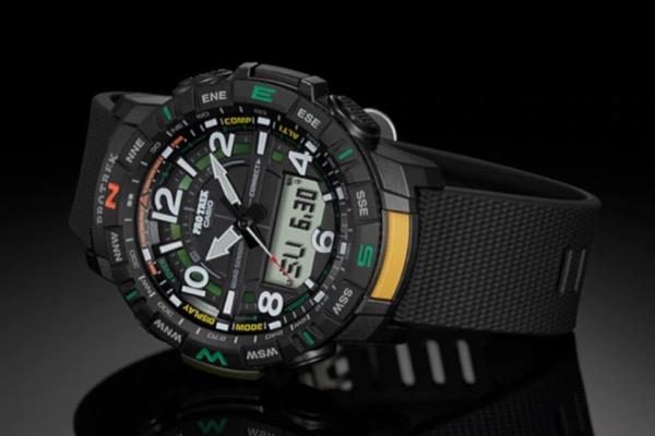 Casio ra mắt đồng hồ Pro Trek giá rẻ, có Bluetooth