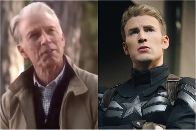 """Marvel tiết lộ số tuổi của Captain America """"già"""" trong đoạn cuối Avengers: Endgame"""