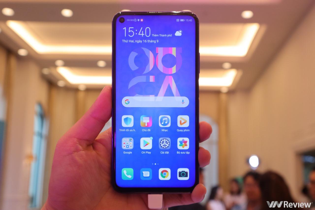 Huawei Nova 5T ra mắt tại VN: Màn hình nốt ruồi, 4 camera 48MP super macro, Kirin 980, 8GB RAM, 128GB ROM, giá 9 triệu đồng