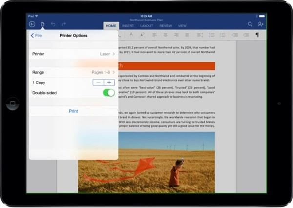 iPad 10.2 inch sẽ không được miễn phí Microsoft Office