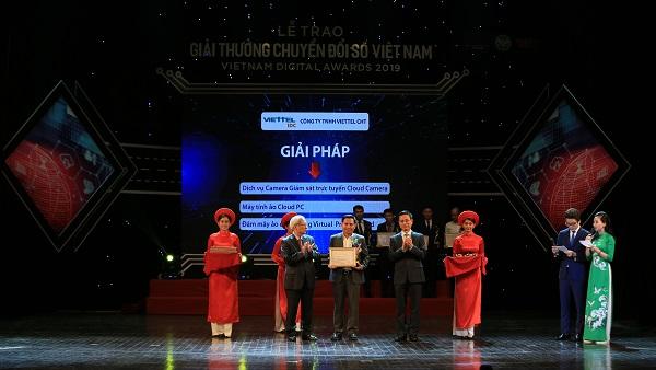 Viettel IDC nhận giải thưởng Chuyển đổi số