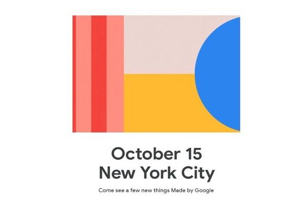 Google Pixel 4 ra mắt ngày 15/10 tại New York