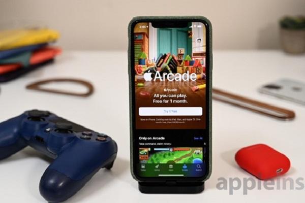 Trải nghiệm dịch vụ chơi game Apple Arcade sắp ra mắt trên iOS 13