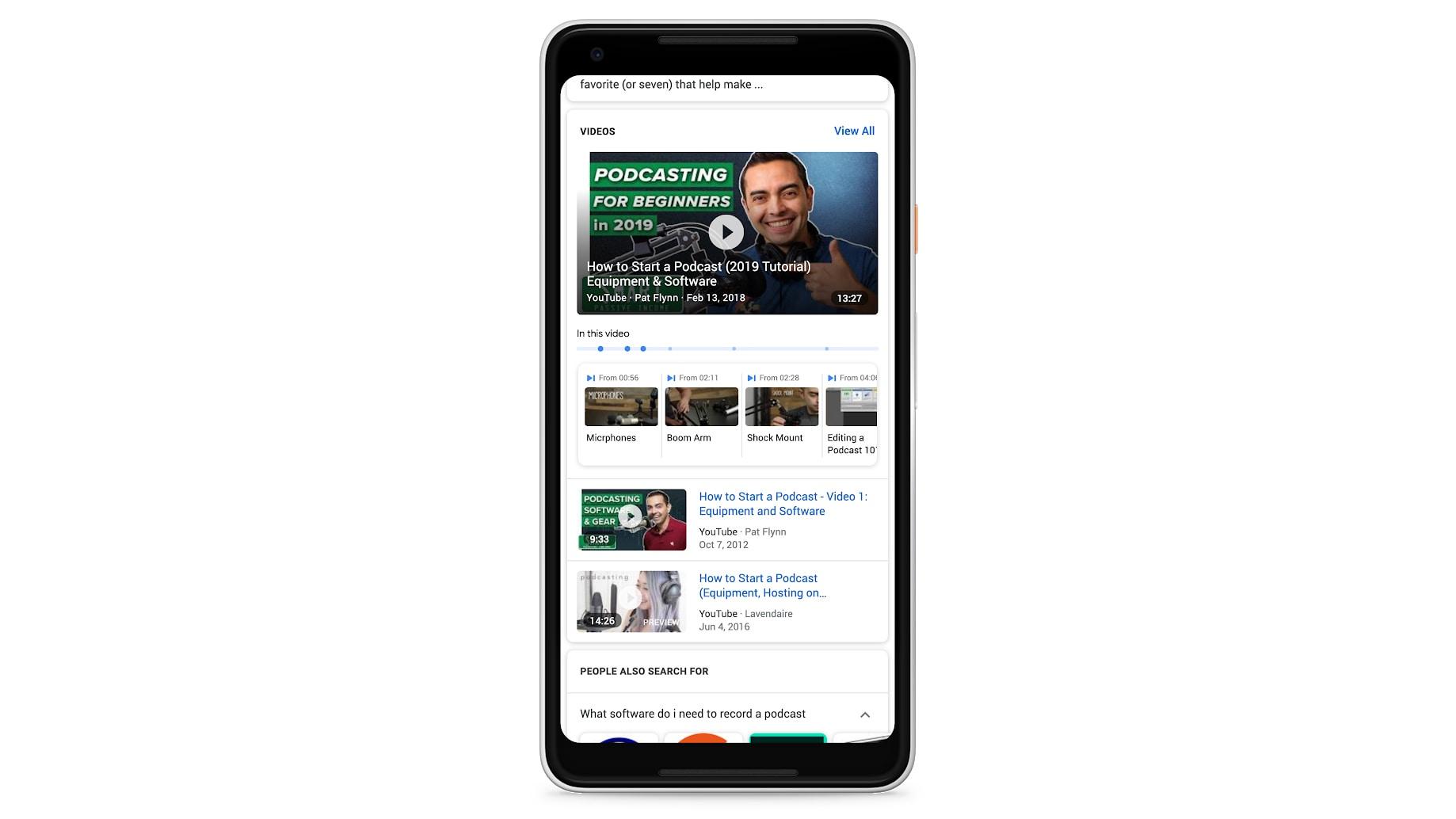 """Công cụ tìm kiếm Google đã có thể """"chỉ"""" chính xác đoạn nào của video có chứa thông tin bạn cần"""