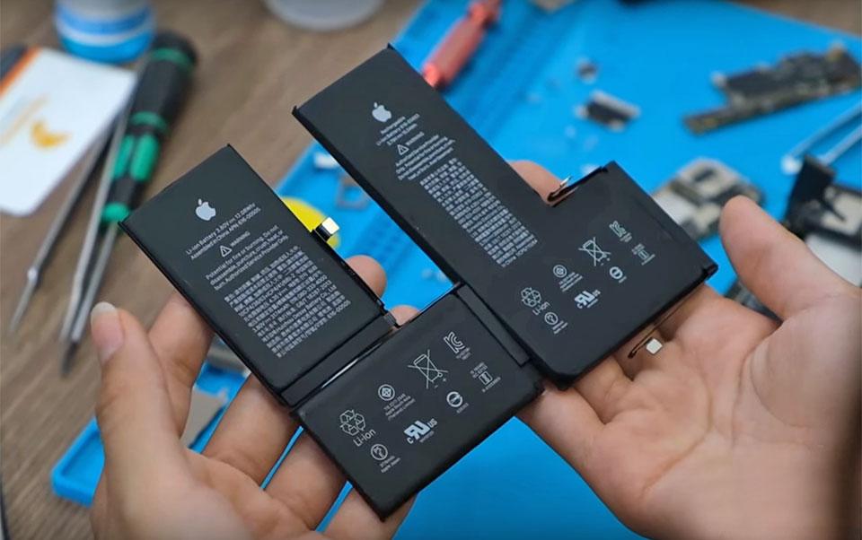 """Hình ảnh """"mổ bụng"""" iPhone 11 Pro Max đầu tiên: viên pin hình chữ L nguyên khối, kích thước tăng 25%"""