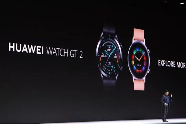 Huawei ra mắt Watch GT 2: nền tảng LiteOS, thời lượng pin 2 tuần, kháng nước 50 mét