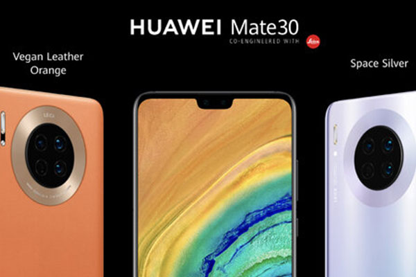 Huawei Mate 30 chính thức: màn hình 6.6 inch, chip Kirin 990, 3 camera sau, giá 20 triệu