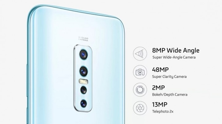 vivo V17 Pro ra mắt: chip Snapdragon 675, màn hình AMOLED 6.44 inch, camera selfie pop-up kép