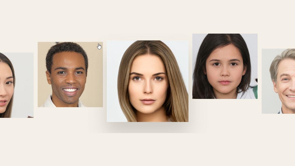 100.000 bức ảnh mặt người do AI tạo ra sẽ được đăng tải miễn phí, các trang web bán ảnh stock lo sợ