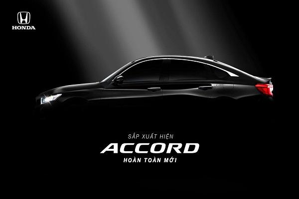 Honda Accord thế hệ mới, ra mắt thị trường Việt từ tháng 10