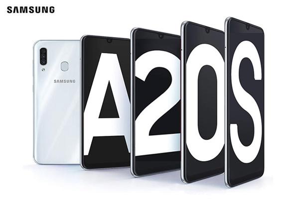 Galaxy A20s ra mắt với màn hình 6.5 inch, 3 camera sau