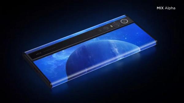 Xiaomi Mix Alpha ra mắt: màn hình tràn viền tới 180%, camera 108MP, giá khủng 2800 USD