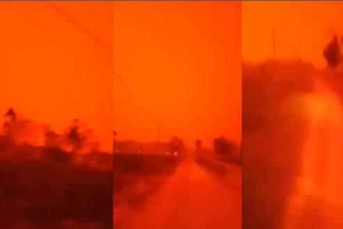 Vì sao cháy rừng làm bầu trời Indonesia đỏ như máu?