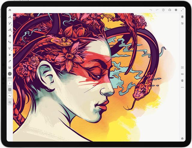 Ứng dụng vẽ tranh Adobe Fresco dành cho iPad ra mắt