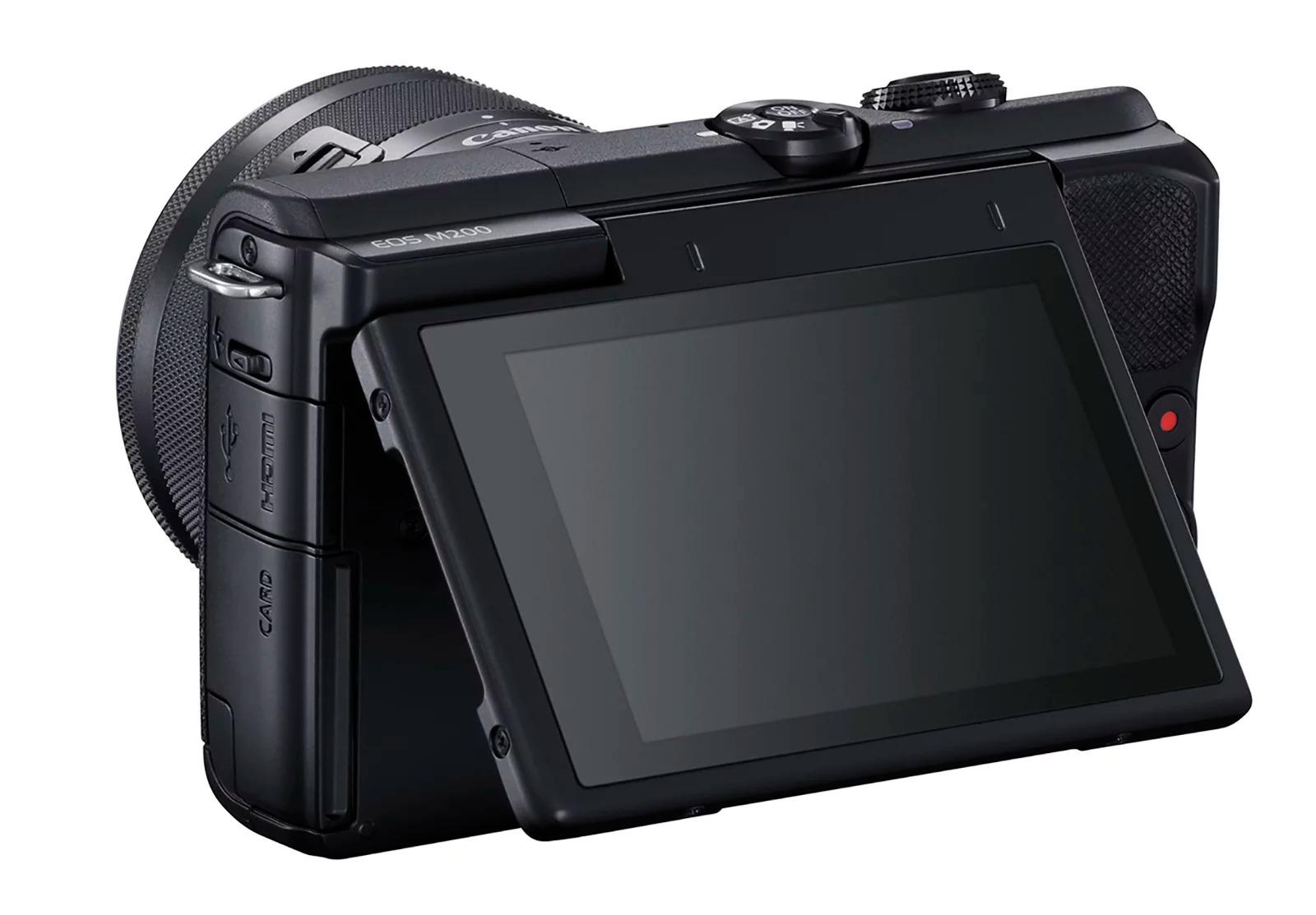 Canon trình làng máy ảnh mirrorless entry-level EOS M200: nhận diện mắt và quay video 4K