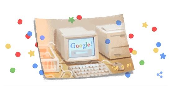 Sinh nhật Google lần thứ 21!