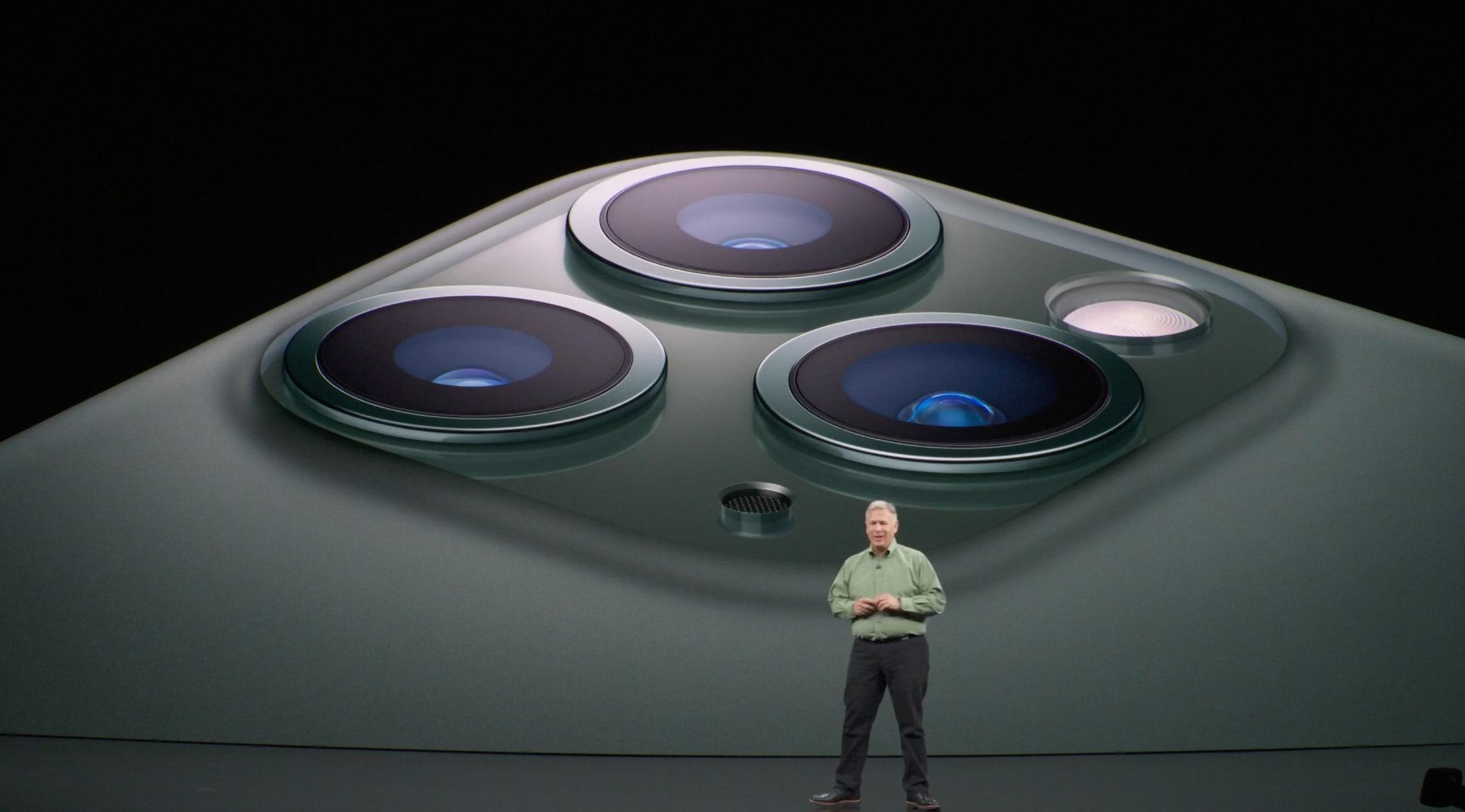 Tất cả ống kính trên thế hệ iPhone 11 đều dùng cảm biến hình ảnh Sony