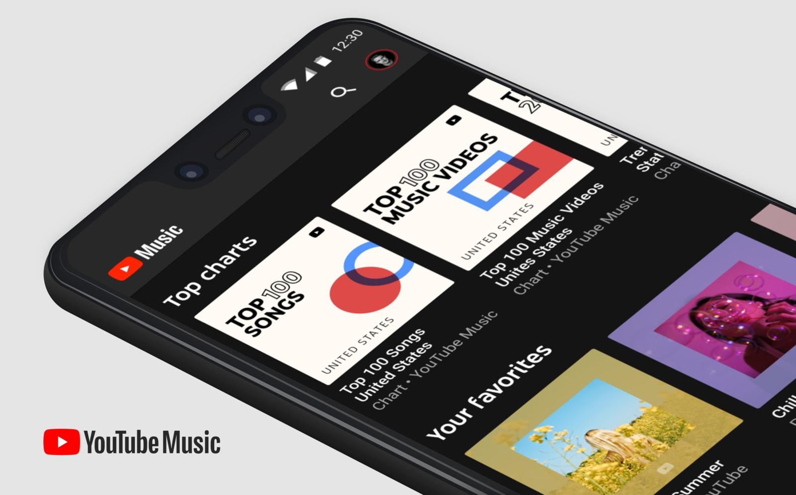 Ứng dụng YouTube Music sẽ được cài đặt sẵn trên các thiết bị Android