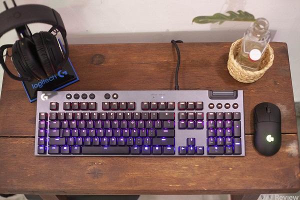Đánh giá bàn phím cơ Logitech G813: Low-Profile lên ngôi?