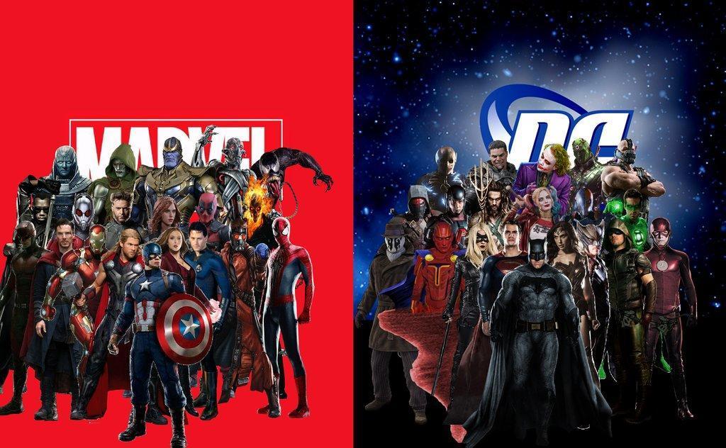 Sự khác biệt giữa Marvel và DC