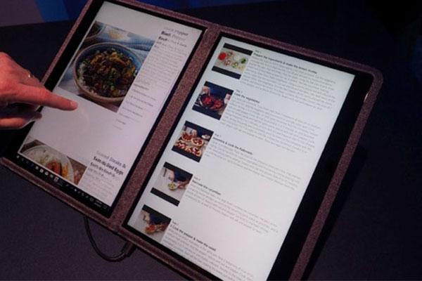 Microsoft sắp ra Windows 10X dành riêng cho laptop 2 màn hình