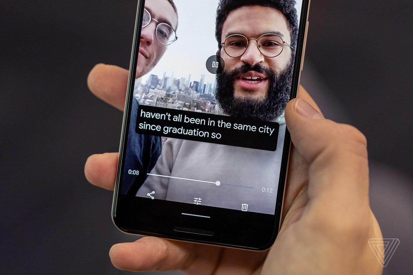 Tính năng phụ đề trực tiếp Live Caption của Android 10 có thể sẽ ra mắt cùng điện thoại Pixel 4