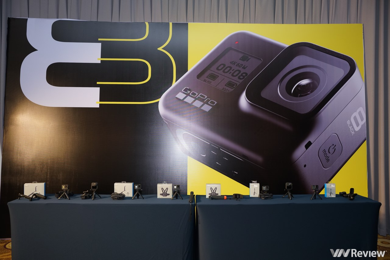 Vừa ra mắt ở thị trường quốc tế, GoPro HERO8 Black, Mod và MAX đã chính thức về VN: giá từ 10,5 triệu đồng, lên kệ từ đầu tháng 11