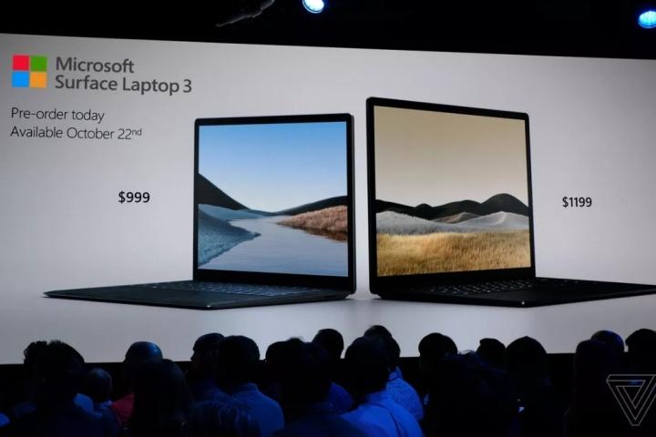 Microsoft công bố Surface Laptop 3 với màn hình 15-inch và cổng USB-C