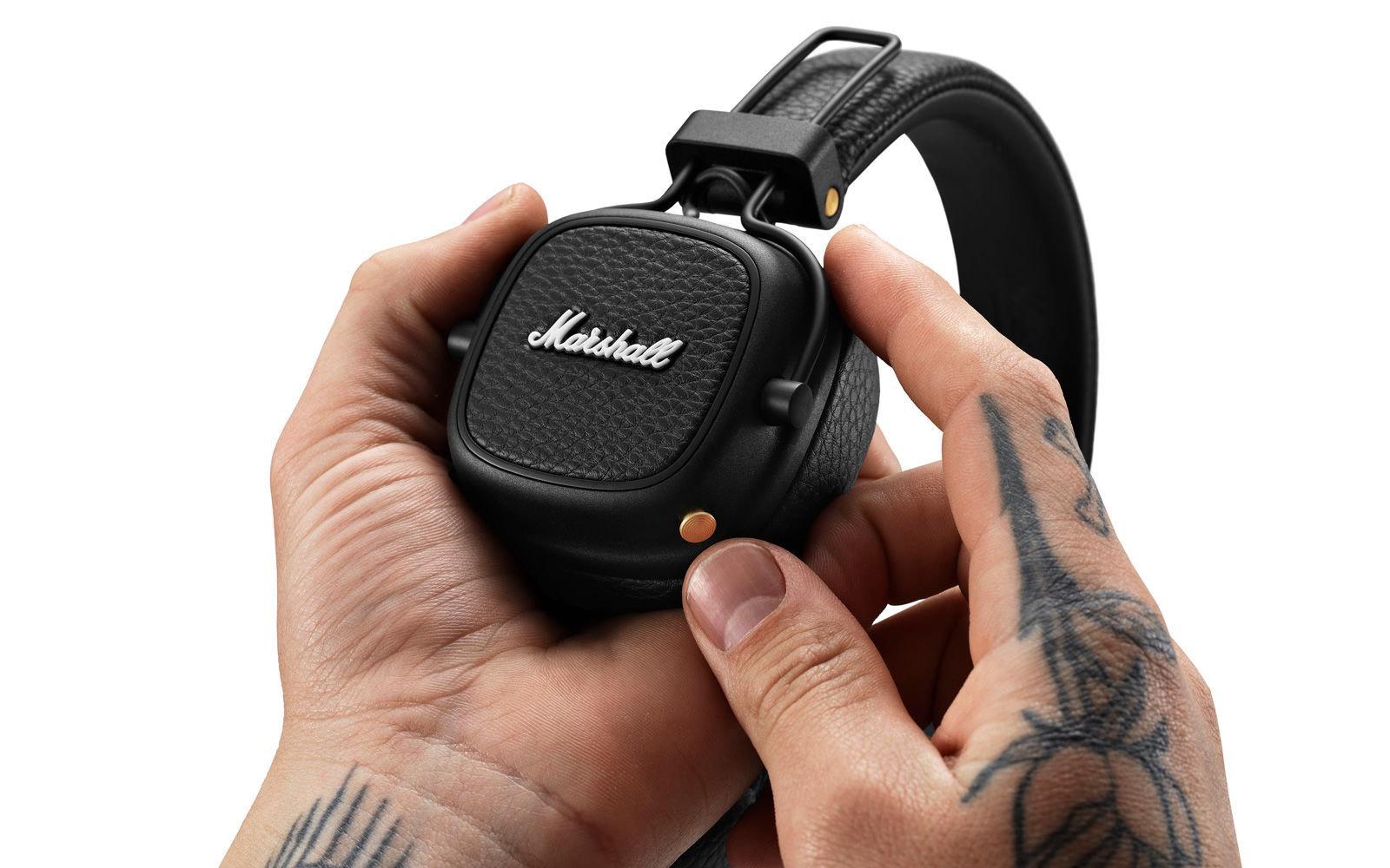 Marshall cập nhật cho Major III, hỗ trợ Google Assistant, 60 giờ nghe nhạc cho mỗi lần sạc