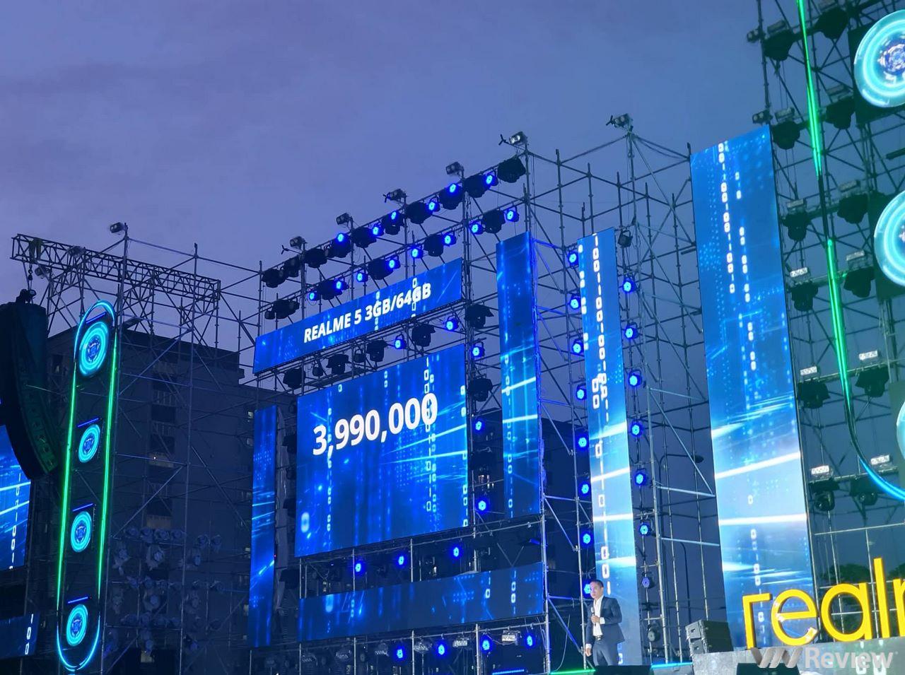 Realme 5 và 5 Pro ra mắt chính thức tại VN: giá lần lượt 4 và 6 triệu đồng