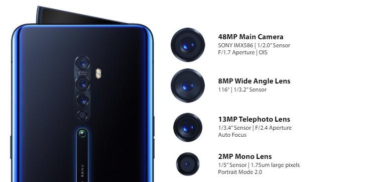 Oppo xác nhận ra mắt Reno2 và Reno2 F với 4 camera sau ở Việt Nam vào 16/10