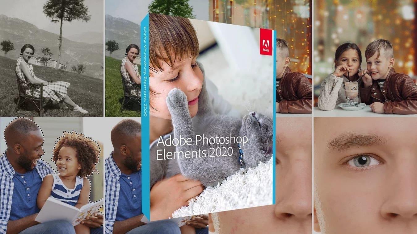 Adobe giới thiệu phần mềm biên tập ảnh Photoshop Elements 2020, tích hợp sâu trí tuệ nhân tạo