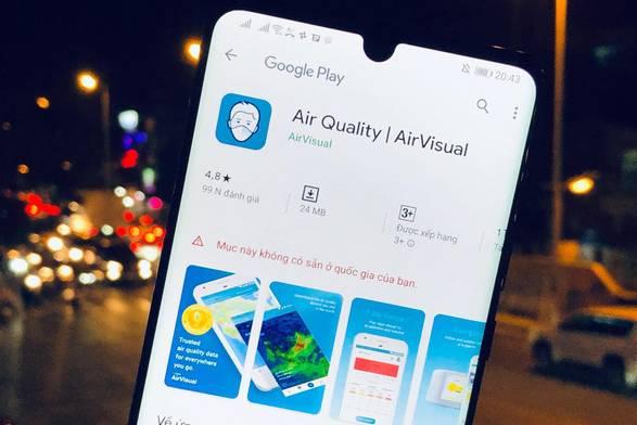 Vì sao AirVisual bất ngờ chặn người dùng tại Việt Nam?