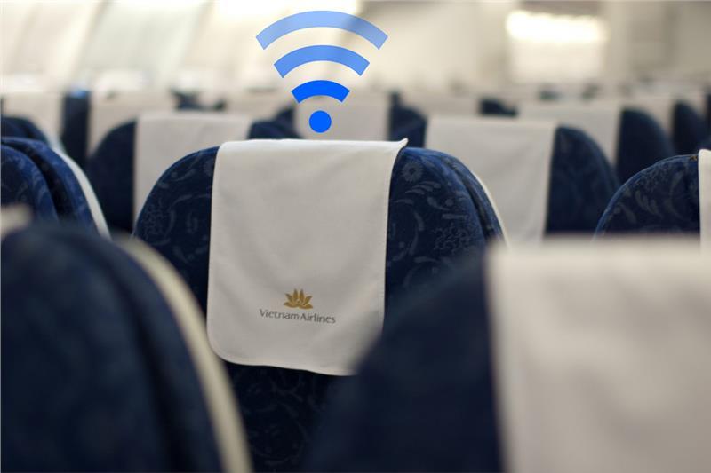 Từ 10/10, đã có thể dùng WiFi khi bay bằng Vietnam Airlines, giá từ 75 nghìn đồng