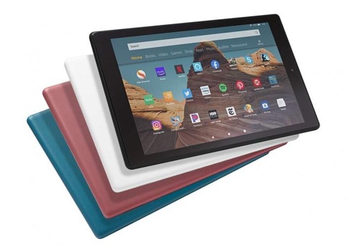 Amazon nâng cấp dòng tablet Fire HD 10 với chip nhanh hơn, bổ sung cổng USB-C