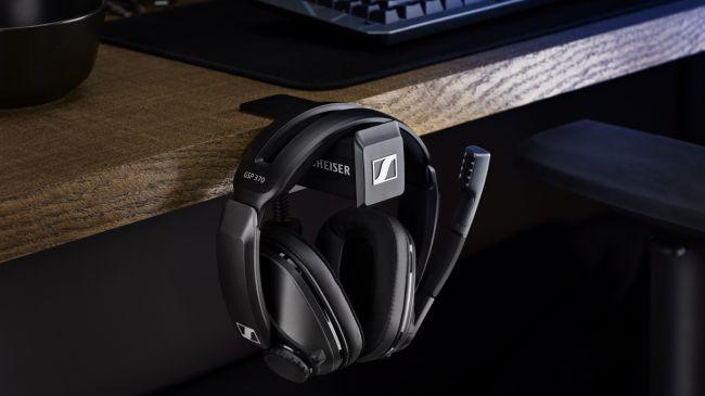 Sennheiser tung ra tai nghe gaming không dây GSP 370 với thời lượng pin lên đến 100 giờ